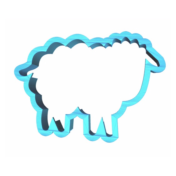 Lamb Cookie Cutter