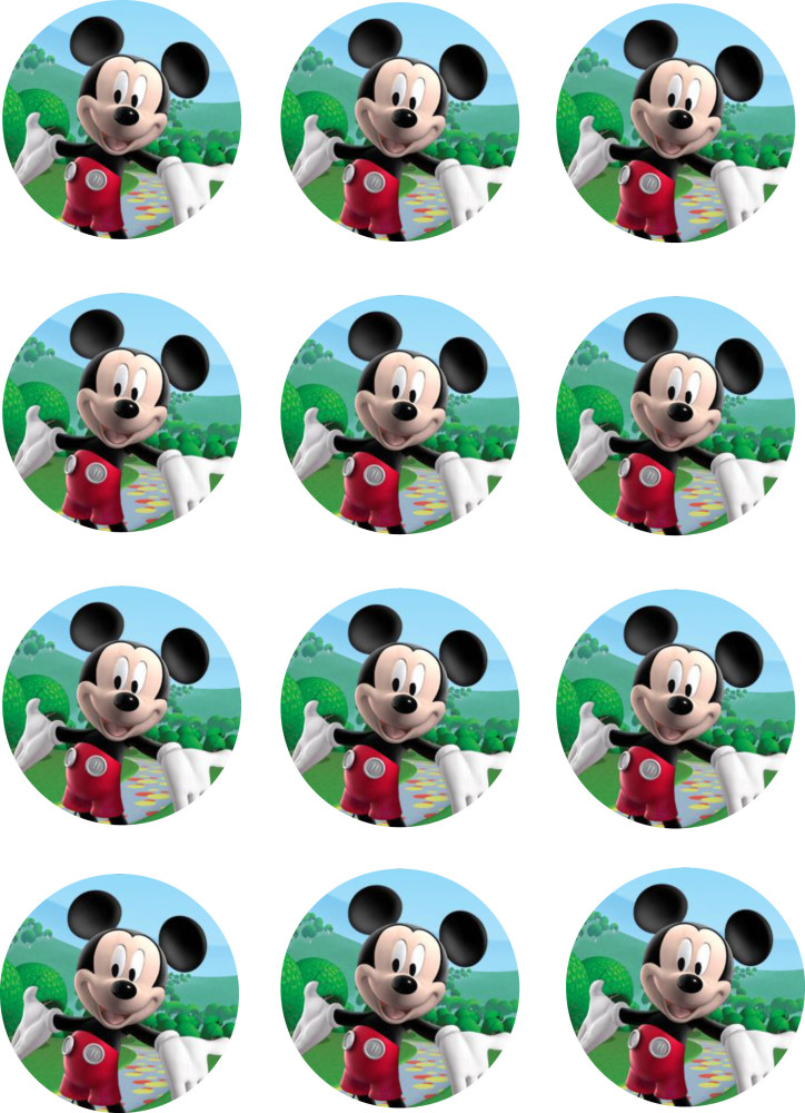 Mickey Mouse Cupcake Toppers | Shore Cake SupplyMickey Mouse Cupcake Toppers