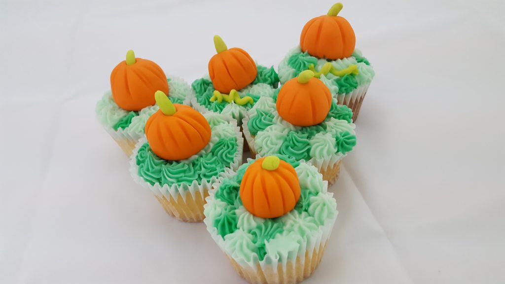 fondant, pumpkins, cupcakes, baking, supplies