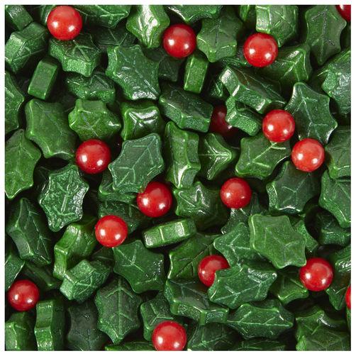 Holly Leaf Sprinkles